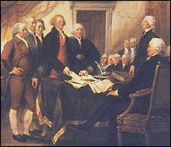 painting founding fathers